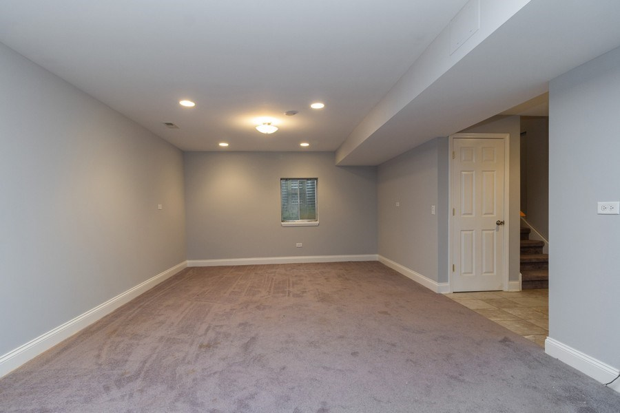 Real Estate Photography - 25734 South Truman St, Monee, IL, 60449 - Recreation Room