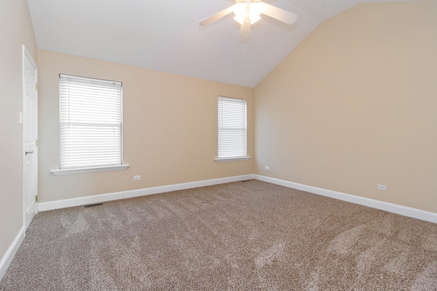 Real Estate Photography - 25734 South Truman St, Monee, IL, 60449 - 2nd Bedroom