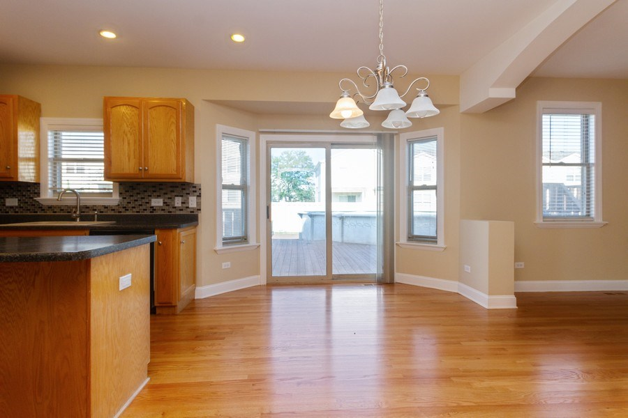 Real Estate Photography - 25734 South Truman St, Monee, IL, 60449 - Breakfast Area