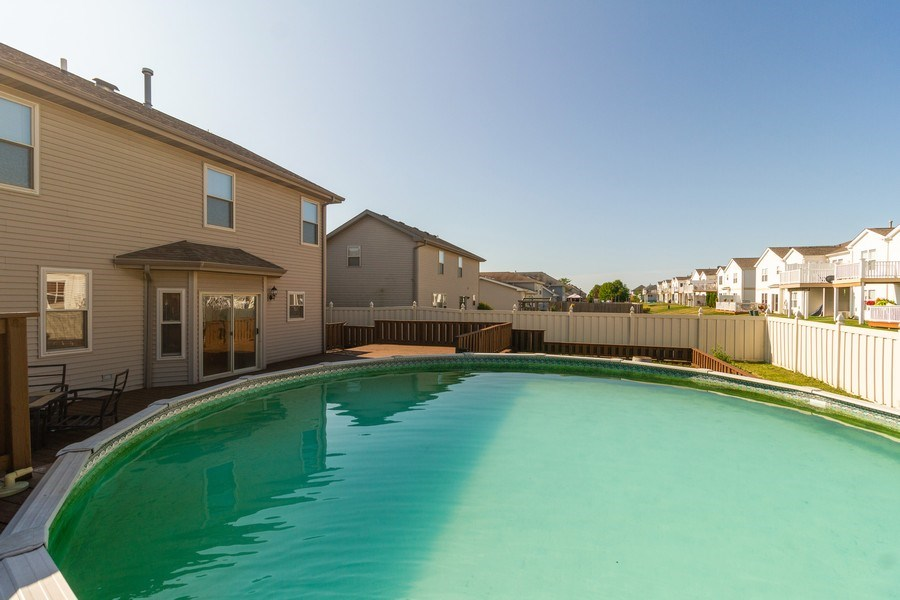 Real Estate Photography - 25734 South Truman St, Monee, IL, 60449 - Pool