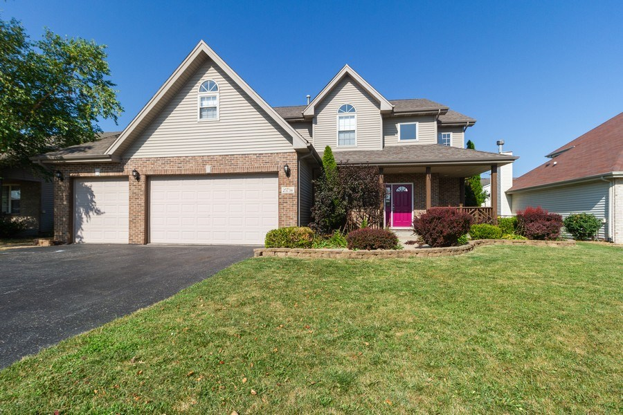 Real Estate Photography - 25734 South Truman St, Monee, IL, 60449 - Front View