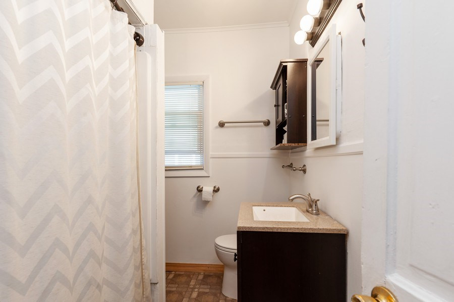 Real Estate Photography - 16 Arlington Road, Fox Lake, IL, 60020 - Bathroom
