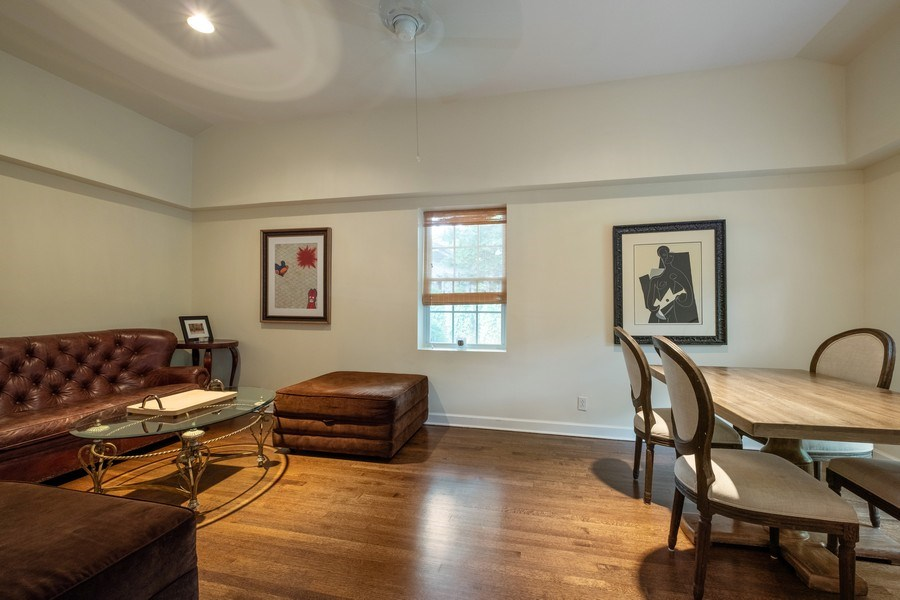 Real Estate Photography - 2600 Sheridan Road, Highland Park, IL, 60035 - Family Room