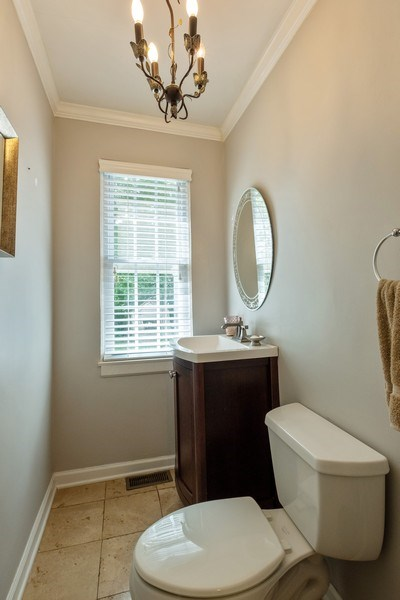 Real Estate Photography - 2600 Sheridan Road, Highland Park, IL, 60035 - Half Bath