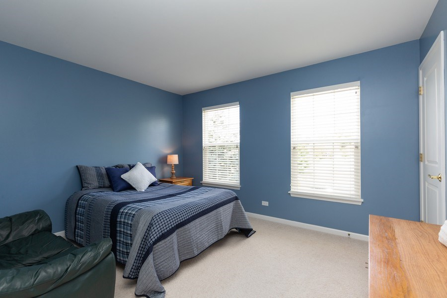 Real Estate Photography - 2689 Spruce Drive, West Dundee, IL, 60118 - 3rd Bedroom