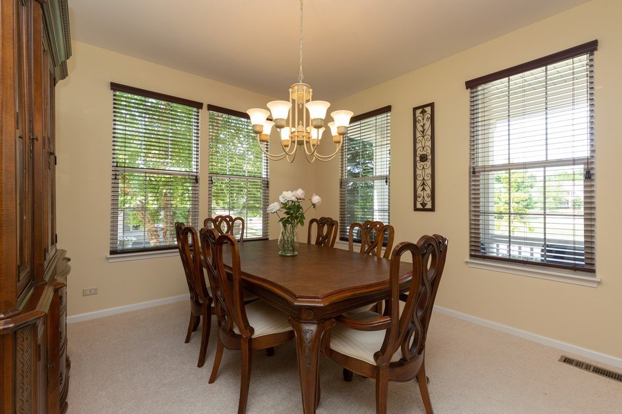 Real Estate Photography - 2689 Spruce Drive, West Dundee, IL, 60118 - Dining Room