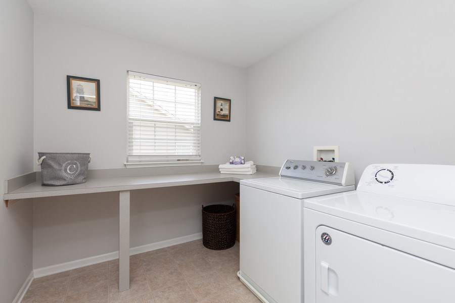 Real Estate Photography - 2689 Spruce Drive, West Dundee, IL, 60118 - Laundry Room