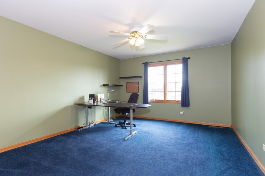 Real Estate Photography - 8712 176th Street, Tinley Park, IL, 60487 - 3rd Bedroom