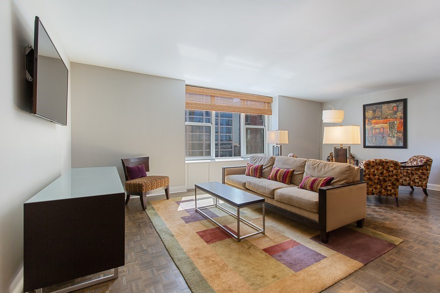 Real Estate Photography - 1325 North State Pkwy, 12E, Chicago, IL, 60610 - Living Room