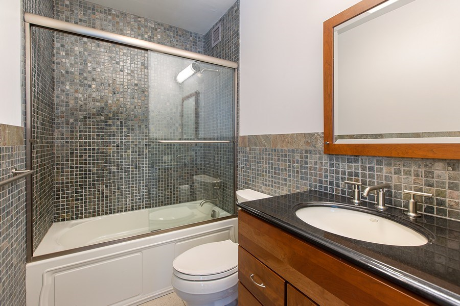Real Estate Photography - 1325 North State Pkwy, 12E, Chicago, IL, 60610 - Master Bathroom