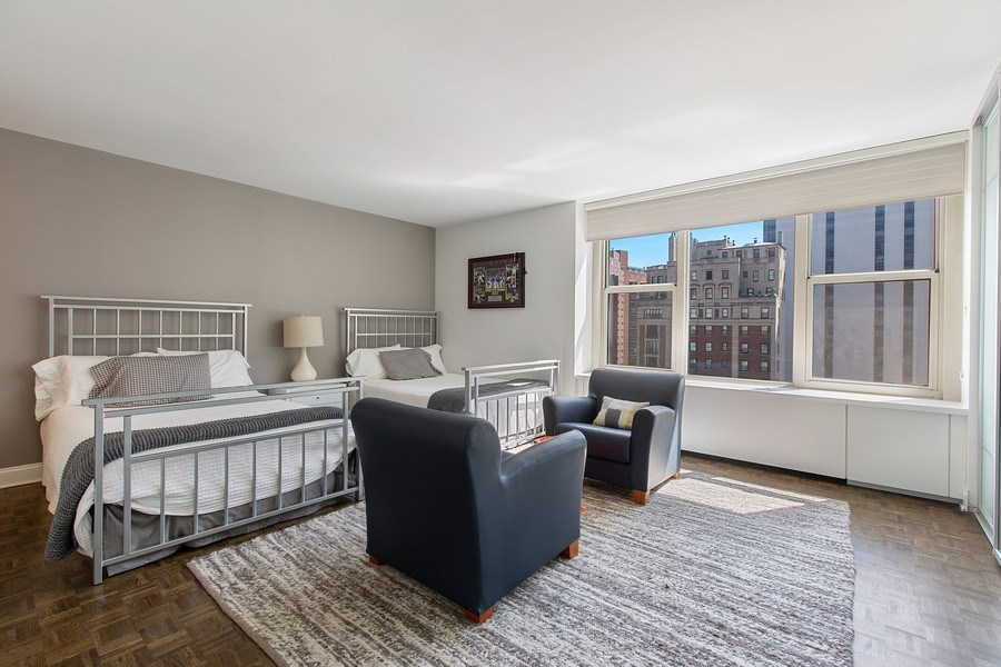 Real Estate Photography - 1325 North State Pkwy, 12E, Chicago, IL, 60610 - Master Bedroom