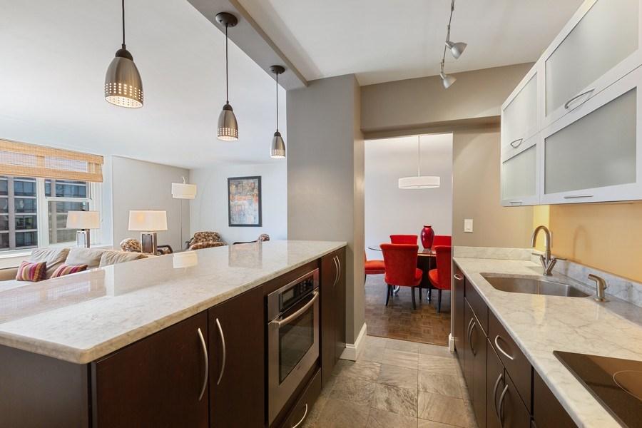 Real Estate Photography - 1325 North State Pkwy, 12E, Chicago, IL, 60610 - Kitchen