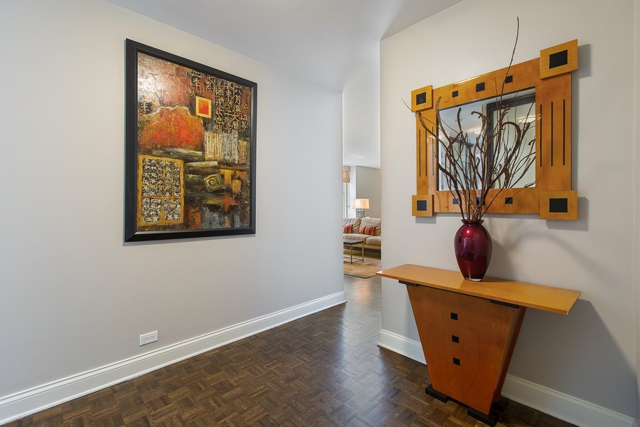 Real Estate Photography - 1325 North State Pkwy, 12E, Chicago, IL, 60610 - Foyer