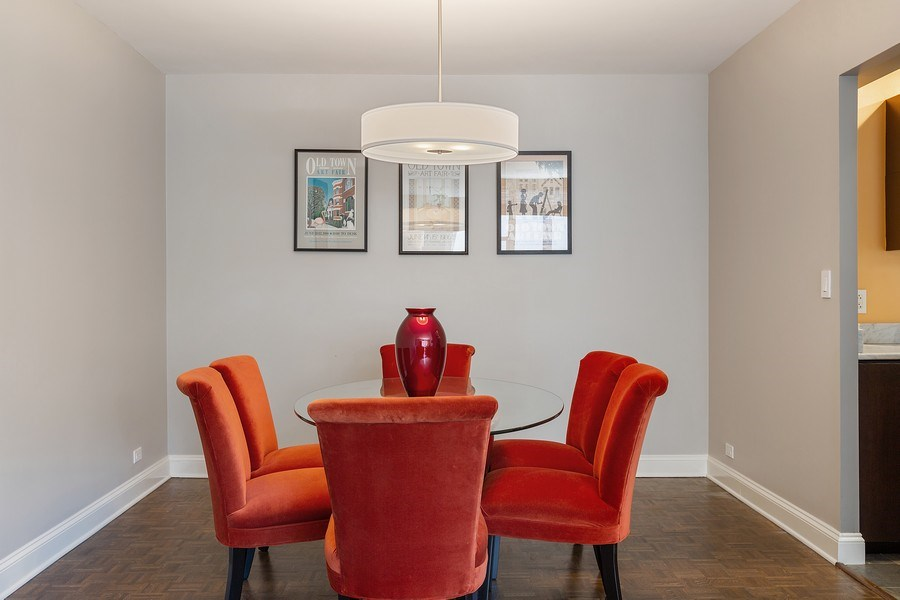 Real Estate Photography - 1325 North State Pkwy, 12E, Chicago, IL, 60610 - Dining Area