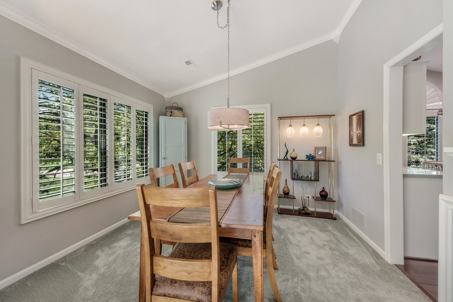 Real Estate Photography - 669 Golf Lane, Unit 669, Lake Barrington, IL, 60010 - Dining Room