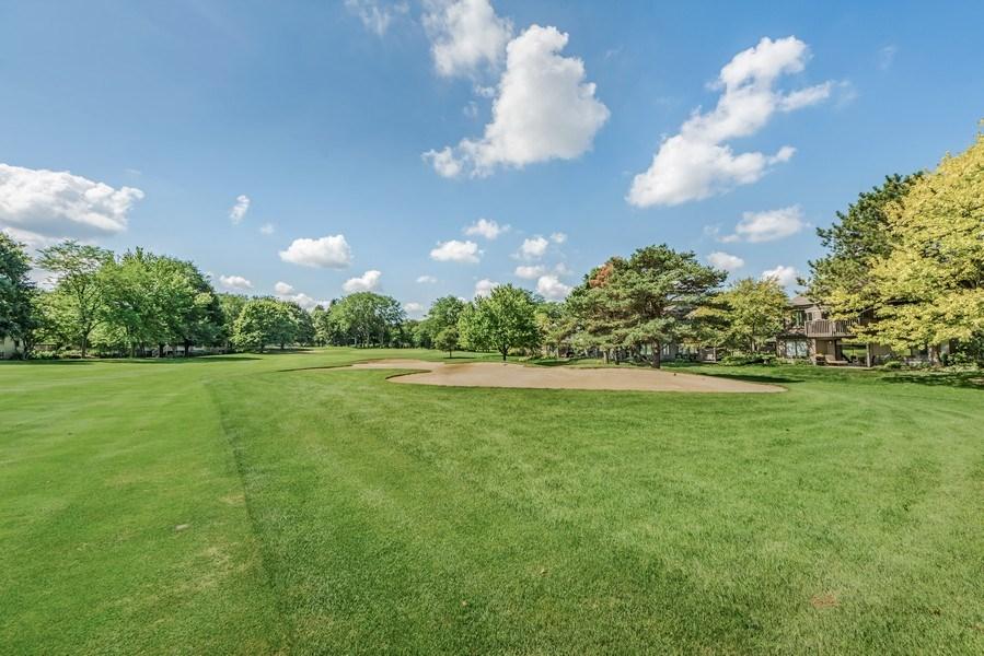 Real Estate Photography - 669 Golf Lane, Unit 669, Lake Barrington, IL, 60010 - Rear View