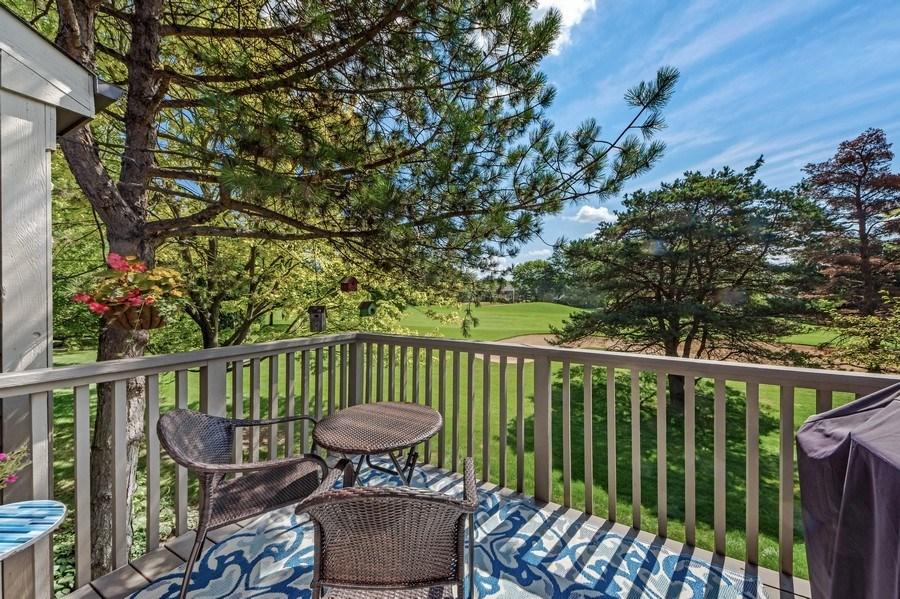 Real Estate Photography - 669 Golf Lane, Unit 669, Lake Barrington, IL, 60010 - Deck
