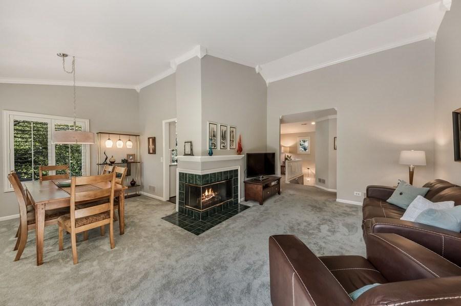 Real Estate Photography - 669 Golf Lane, Unit 669, Lake Barrington, IL, 60010 - Living Room / Dining Room