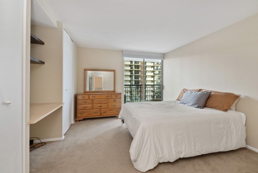 Real Estate Photography - 6007 North Sheridan Rd, 7K, Chicago, IL, 60660 - 2nd Bedroom