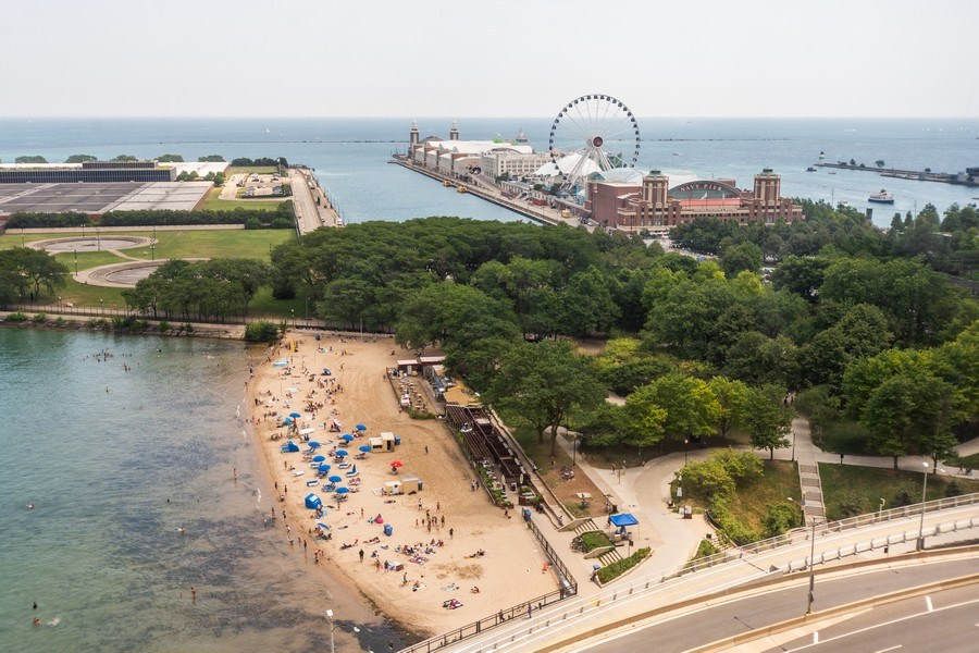 Real Estate Photography - 600 North Lake Shore Dr, 1605, Chicago, IL, 60611 - View
