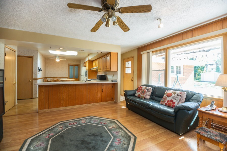 Real Estate Photography - 221 S. Fernandez Avenue, Arlington Heights, IL, 60005 - Family Room / Kitchen