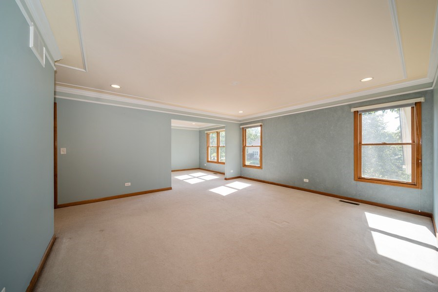 Real Estate Photography - 1640 Quail Way, Crystal Lake, IL, 60014 - Master Bedroom