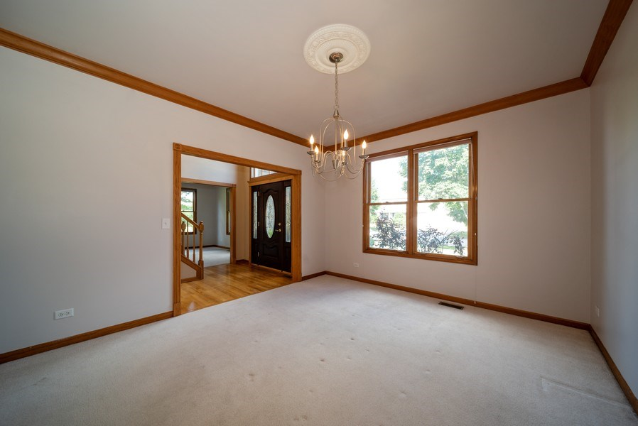 Real Estate Photography - 1640 Quail Way, Crystal Lake, IL, 60014 - Dining Room