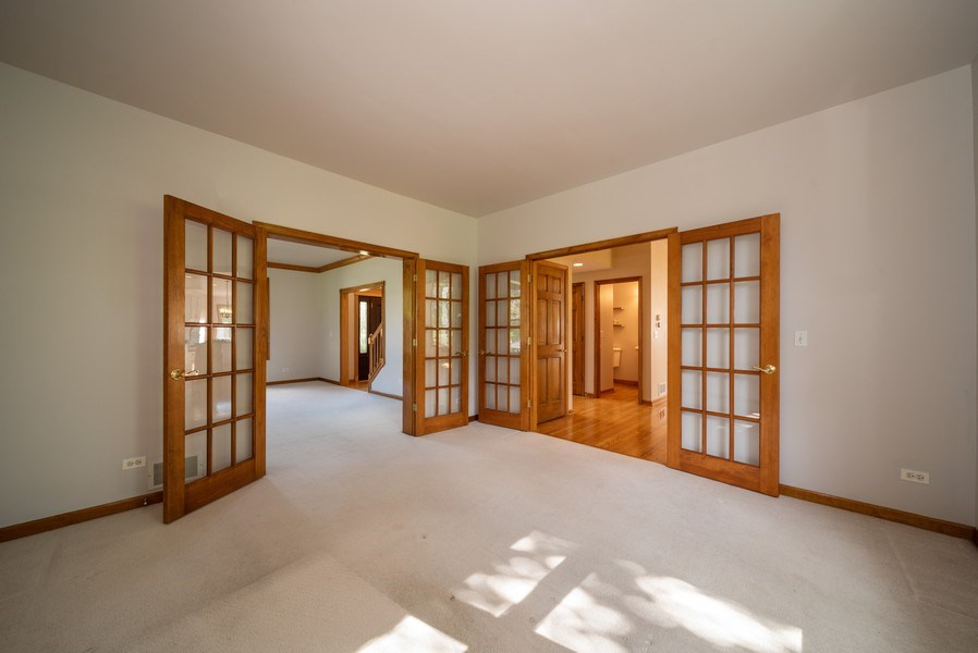 Real Estate Photography - 1640 Quail Way, Crystal Lake, IL, 60014 - Den