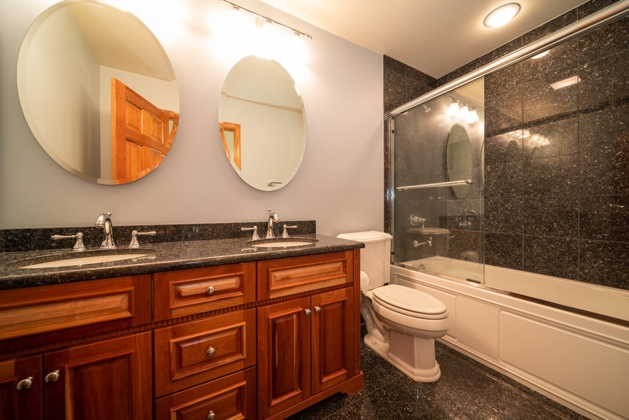 Real Estate Photography - 1640 Quail Way, Crystal Lake, IL, 60014 - Bathroom