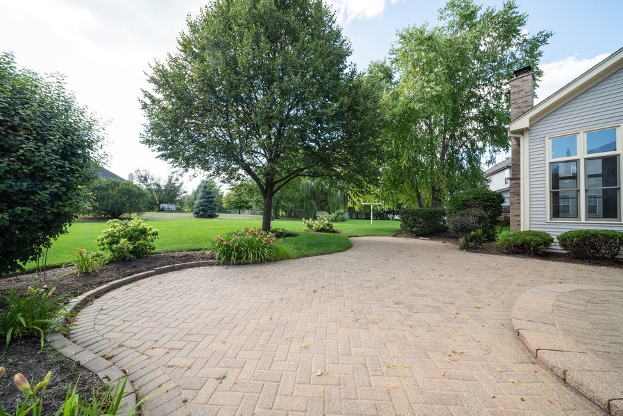 Real Estate Photography - 1640 Quail Way, Crystal Lake, IL, 60014 - Patio