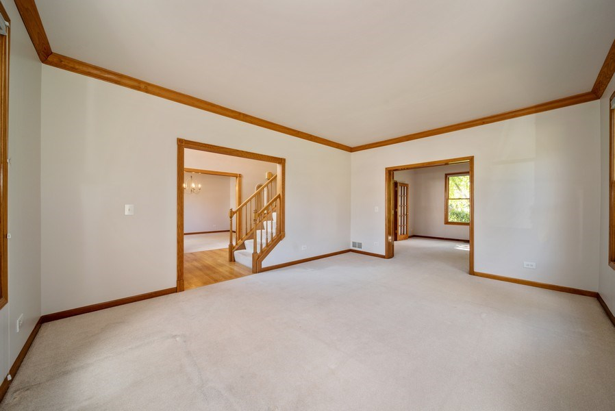 Real Estate Photography - 1640 Quail Way, Crystal Lake, IL, 60014 - Living Room / Dining Room
