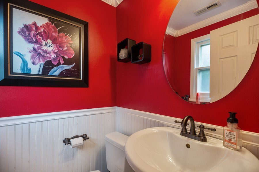 Real Estate Photography - 619 West Hackberry Dr, Arlington Heights, IL, 60004 - Half Bath