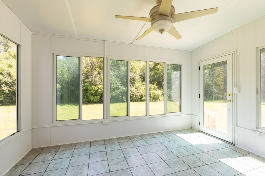 Real Estate Photography - 37517 Lyons Woods Court, Beach Park, IL, 60087 - Sun Room