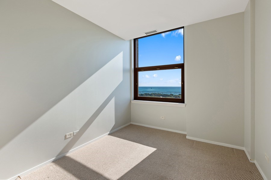 Real Estate Photography - 330 South Michigan Ave, 1508, Chicago, IL, 60604 - 2nd Bedroom