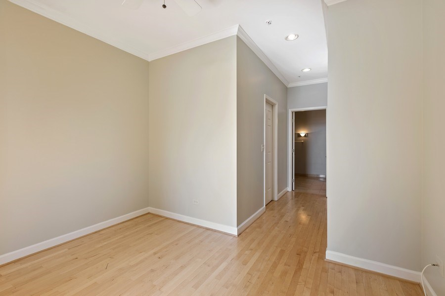 Real Estate Photography - 330 South Michigan Ave, 1508, Chicago, IL, 60604 - Master Bedroom