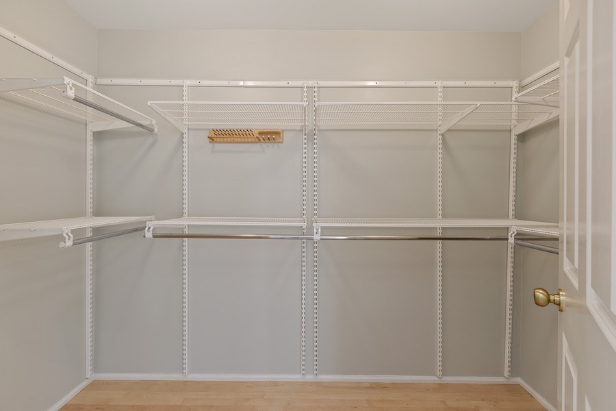 Real Estate Photography - 330 South Michigan Ave, 1508, Chicago, IL, 60604 - Master Bedroom Closet