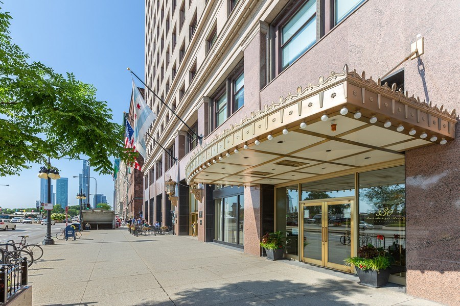 Real Estate Photography - 330 South Michigan Ave, 1508, Chicago, IL, 60604 - Front View