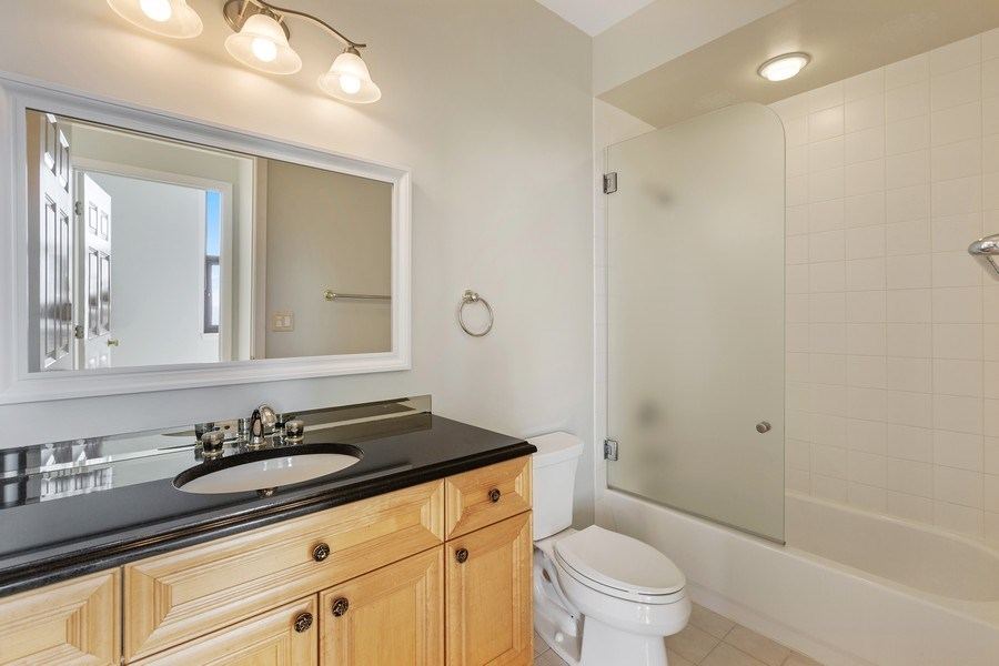 Real Estate Photography - 330 South Michigan Ave, 1508, Chicago, IL, 60604 - Bathroom