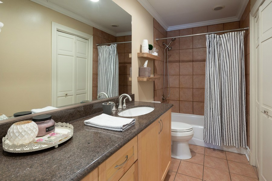 Real Estate Photography - 6 Westmoreland Ct, Woodridge, IL, 60517 - Master Bathroom
