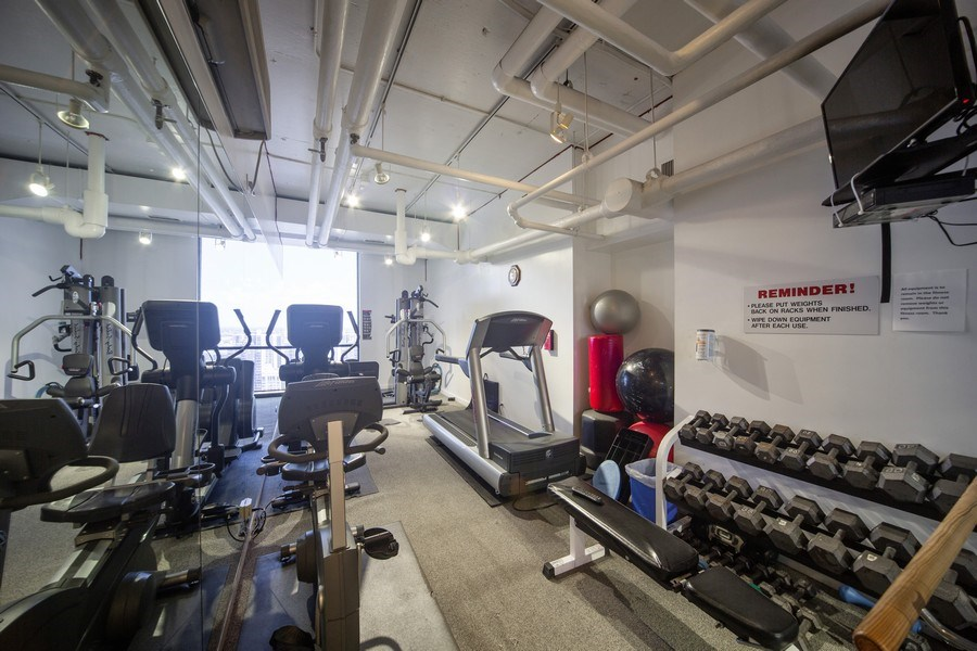 Real Estate Photography - 1240 N. LAKE SHORE Drive, Unit 8A, Chicago, IL, 60610 - Gym