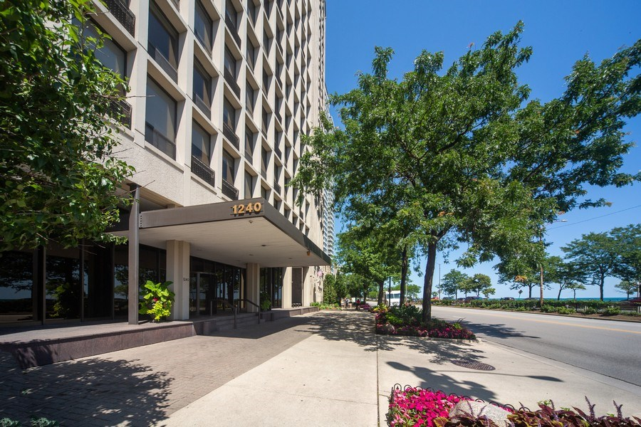 Real Estate Photography - 1240 N. LAKE SHORE Drive, Unit 8A, Chicago, IL, 60610 - Front View