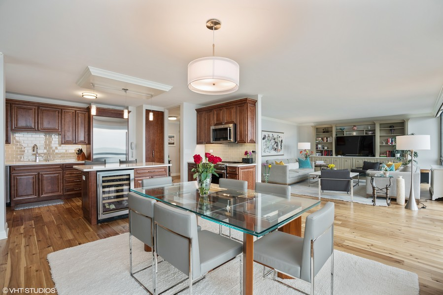 Real Estate Photography - 1240 N. LAKE SHORE Drive, Unit 8A, Chicago, IL, 60610 - Kitchen/Dining Room