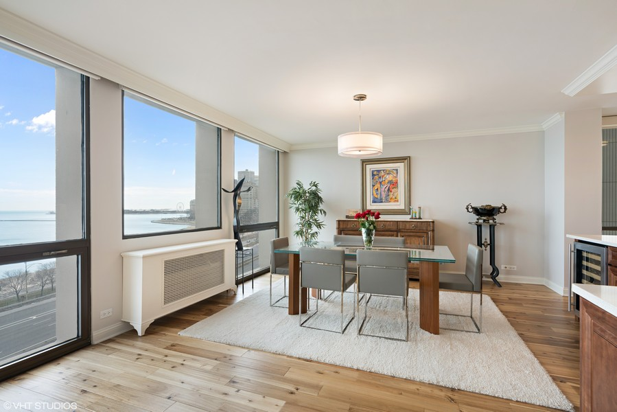 Real Estate Photography - 1240 N. LAKE SHORE Drive, Unit 8A, Chicago, IL, 60610 - Dining Room