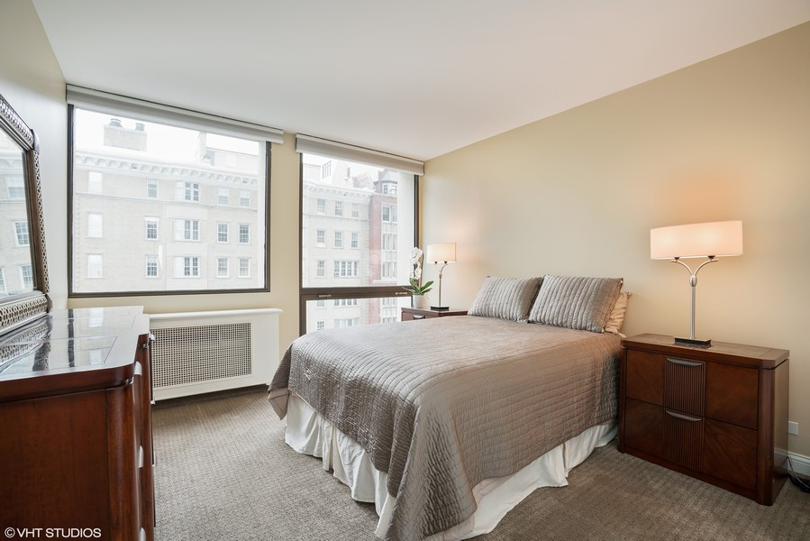 Real Estate Photography - 1240 N. LAKE SHORE Drive, Unit 8A, Chicago, IL, 60610 - Second Bedroom