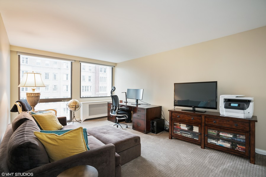 Real Estate Photography - 1240 N. LAKE SHORE Drive, Unit 8A, Chicago, IL, 60610 - Third Bedroom