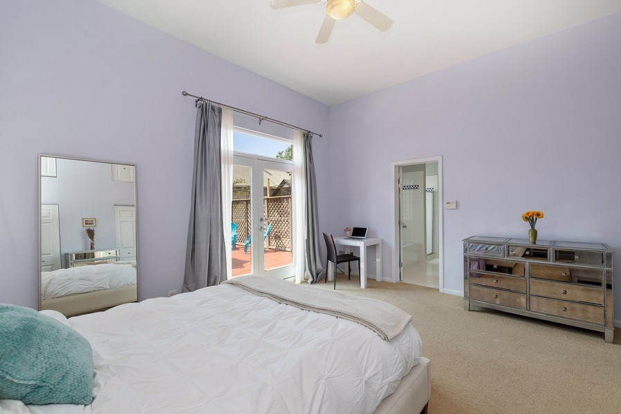 Real Estate Photography - 2814 North Sheffield Ave, 2S, Chicago, IL, 60657 - Master Bedroom