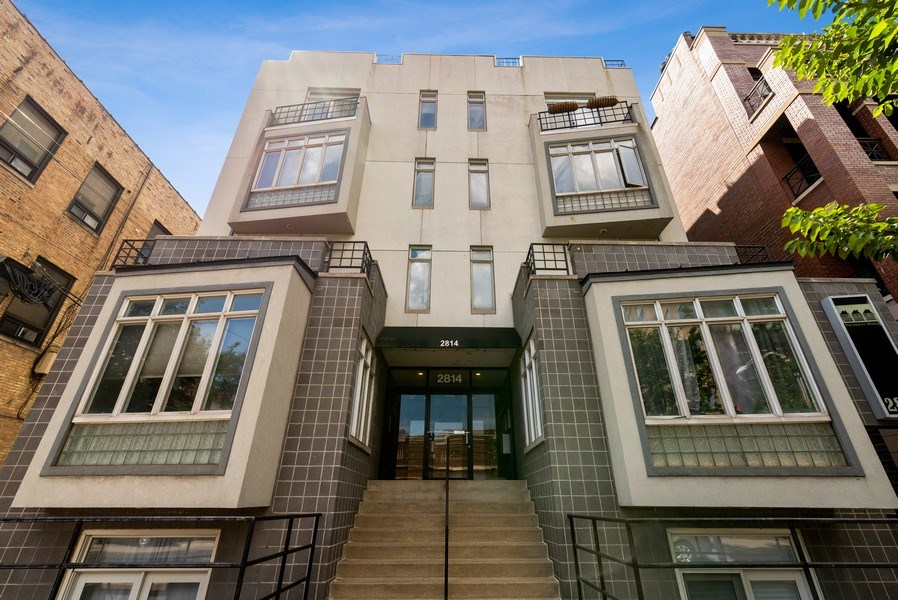Real Estate Photography - 2814 North Sheffield Ave, 2S, Chicago, IL, 60657 - Front View