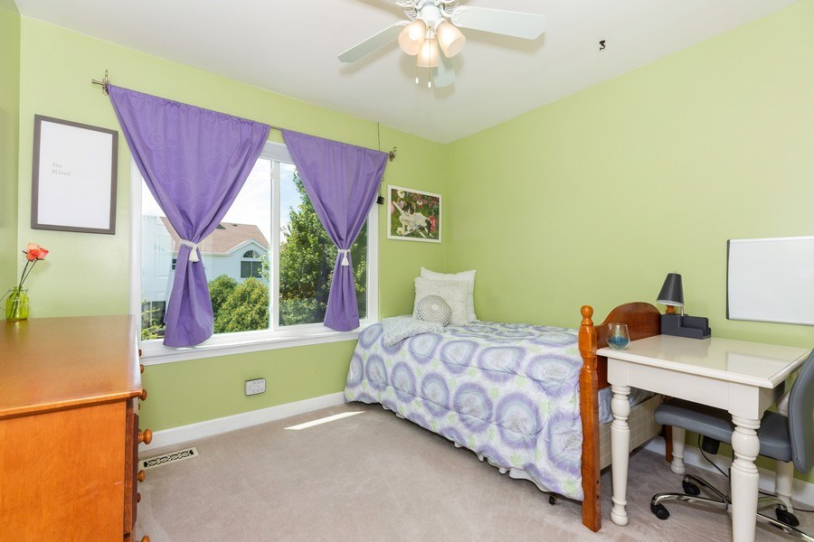 Real Estate Photography - 2135 Periwinkle Ln, Naperville, IL, 60540 - BEDROOM