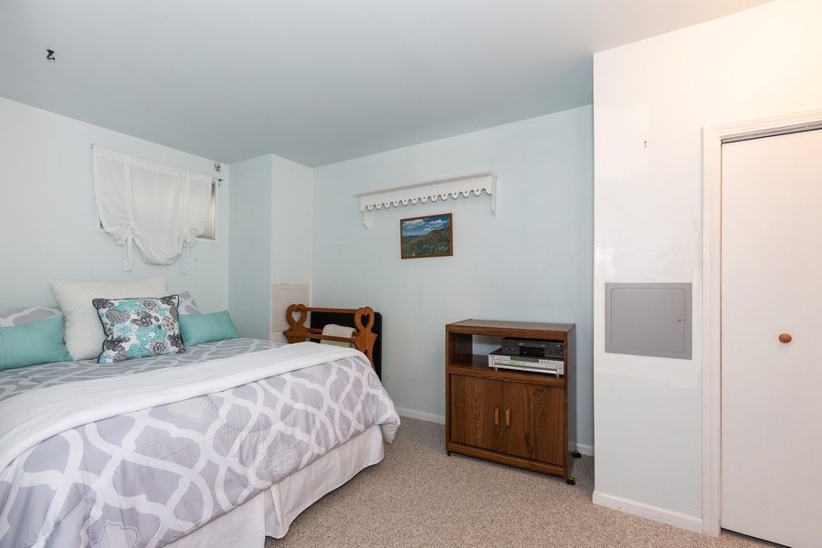 Real Estate Photography - 2135 Periwinkle Ln, Naperville, IL, 60540 - BASEMENT BEDROOM