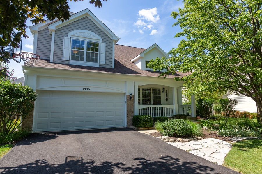 Real Estate Photography - 2135 Periwinkle Ln, Naperville, IL, 60540 - EXTERIOR FRONT VIEW